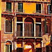 Golden Venice Art Print