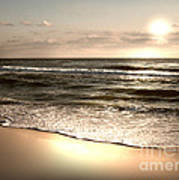 Goldest Shoreline Art Print by Jeffery Fagan
