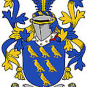 Golding Coat Of Arms Irish Art Print