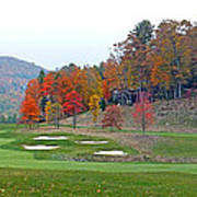 Golf Course At Lake Toxaway Art Print