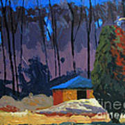 Golf Course Shed Series No.2 Art Print