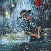 Golf Delirium Nocturnum 02 Art Print