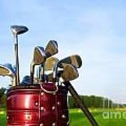 Golf Gear Art Print