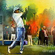 Golf In Gut Laerchehof Germany 01 Art Print