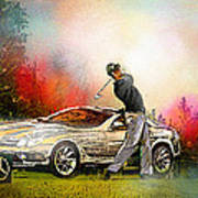 Golf In Gut Laerchehof Germany 03 Art Print