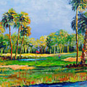 Golf In The Tropics Art Print