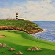 Golf Old Head Of Kinsale Art Print