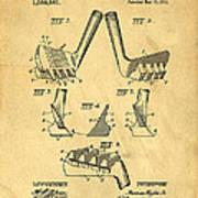 Golf Putter Patent Art Print by Edward Fielding