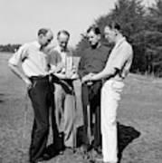 Golfers, 1938 Art Print