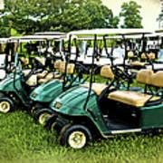 Golfers Take Your Pick Art Print