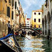 Gondola 158-venice Art Print