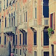 Gondola In Venice  Art Print
