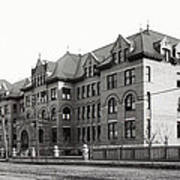 Gonzaga College Spokane 1900 Print by Daniel Hagerman