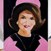 Good And Plenty Jackie O  Art Print by Candace Lovely