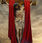His Ultimate Gift Of Mercy - Jesus Christ Art Print