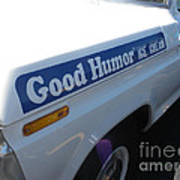Good Humor Ice Cream Truck 03 Art Print