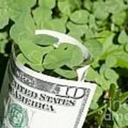 Good Luck And Money Art Print