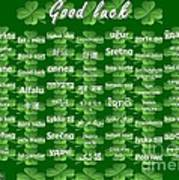 Good Luck Art Print