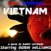 Good Morning Vietnam Movie Poster Art Print