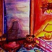 Good Night Angels Art Print