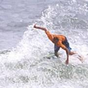 Good Surf Art Print