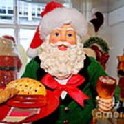 Good Time Santa Art Print