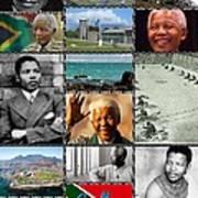 Goodbye Madiba Art Print