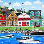 Goodies By The Sea Art Print