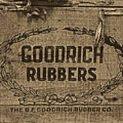 Goodrich Rubbers Boot Box Print by Tom Mc Nemar