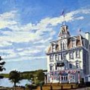 Goodspeed Opera House East Haddam Connecticut Art Print