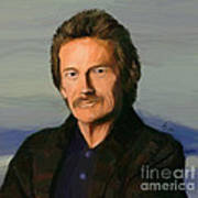 Gordon Lightfoot Art Print by GCannon