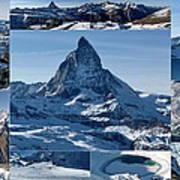 Gorgeous Matterhorn  Art Print