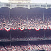 Gorgeous View Of Old Yankee Stadium Art Print