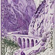 Gorges Kerrata Art Print