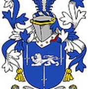 Gorman Coat Of Arms Irish Art Print
