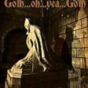 Goth Poster Art Print
