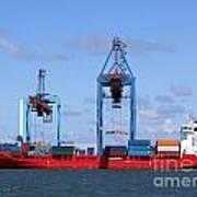 Gothenburg Harbour 09 Art Print