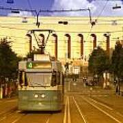 Gothenburg Tram 04 Art Print