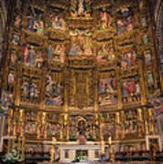 Gothic Altar Screen Art Print