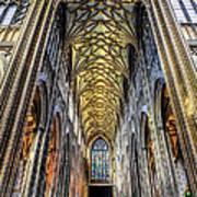 Gothic Architecture Art Print by Adrian Evans