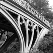 Gothic Bridge Design Art Print