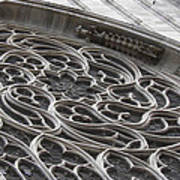Milan Gothic Cathedral Apse Window Art Print