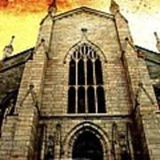 Gothic Church Cathedral Photograph Art Print