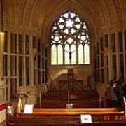 Gothic Church Kylemore Abbey Art Print