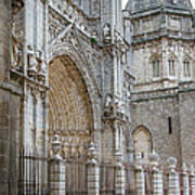 Gothic Splendor Of Spain Art Print by Joan Carroll