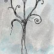Gothic Tree Print by Jacquie Gouveia