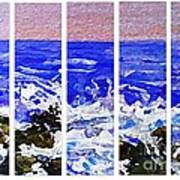 Gottah See Waves  Art Print