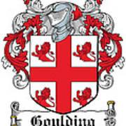 Goulding Coat Of Arms Irish Art Print