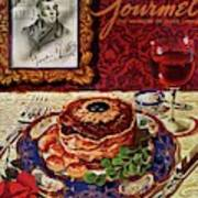 Gourmet Cover Featuring A Plate Of Tournedos Art Print