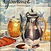Gourmet Cover Featuring An Illustration Art Print